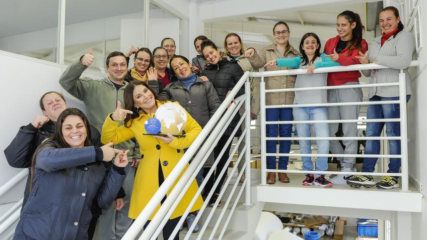 Começo de Vida, empresa de Concórdia/SC, recebe premiação da Walmart Brasil