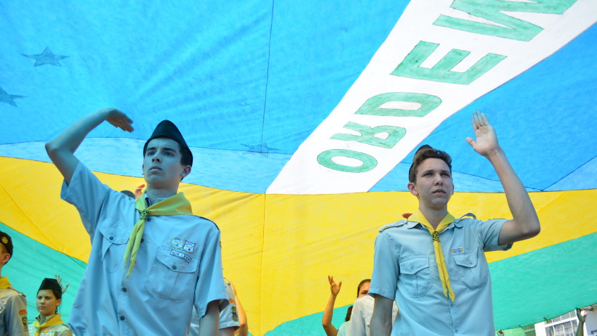 Amor à Pátria e homenagens marcam o Desfile Cívico de Morro da Fumaça