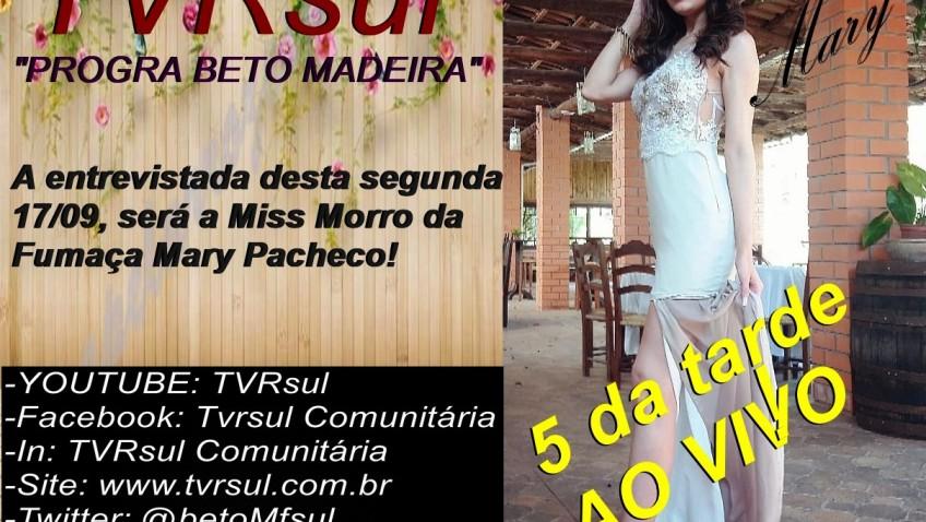 MAIS UMA EXCELENTE ENTREVISTA AQUI NA TVRsul QUE VOCÊ NÃO DEVE PERDER! CANAL OFICIAL: www.tvrsul.com.br