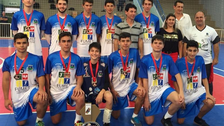 Vôlei de Morro da Fumaça disputa segunda etapa da Liga de Santa Catarina