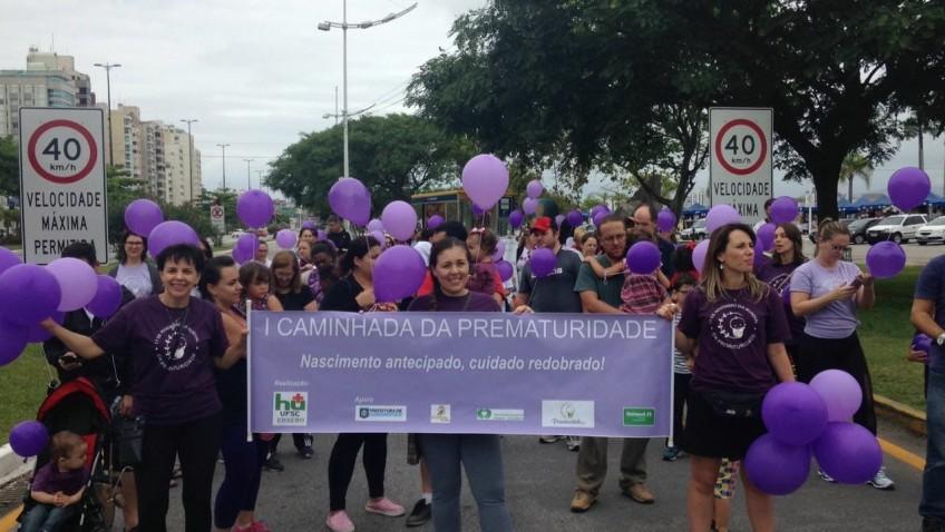 Florianópolis se prepara para a II Caminhada da Prematuridade