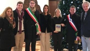 Comitiva italiana de Malo chega a Nova Veneza