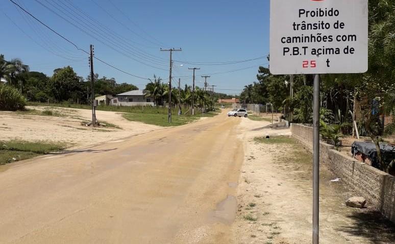 Decreto proíbe tráfego pesado em duas ruas de Estação Cocal