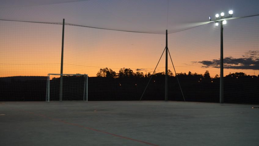Vila Rica ganha espaço para a prática esportiva