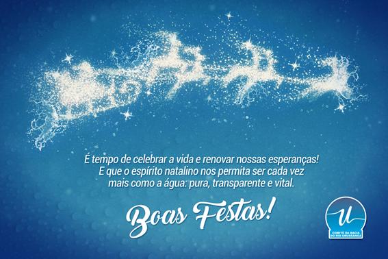 Boas festas e feliz natal!