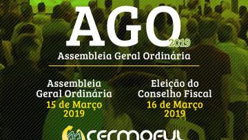 CERMOFUL LANÇA EDITAL PARA ASSEMBLEIA GERAL
