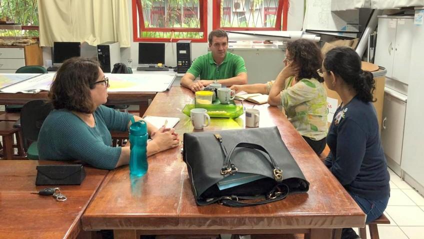 Educação Ambiental volta à pauta em reunião com gerente da SDS