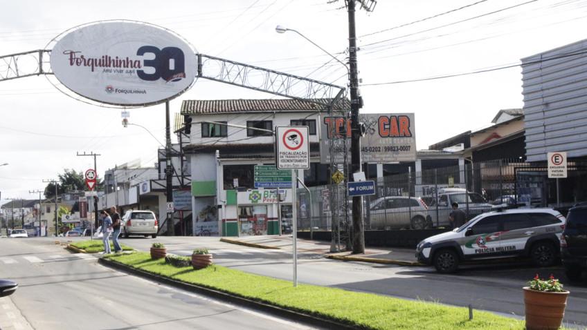 Instalação de câmeras de vigilância amplia a segurança em Forquilhinha