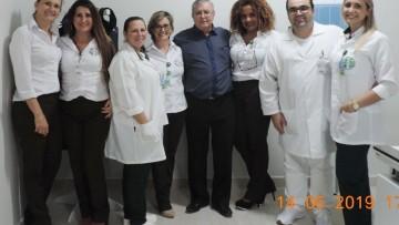 TVRsul – 14/06/2019 CERIMONIA DE INAUGURAÇÃO DA NOVA SALA DO RAIO-X DO HOSPITAL DE CARIDADE SÃO ROQUE DE MORRO DA FUMAÇA