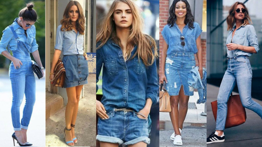 Looks com Camisa Jeans Feminina