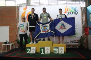 Jasc: natação conquista nove medalhas na primeira etapa de competição