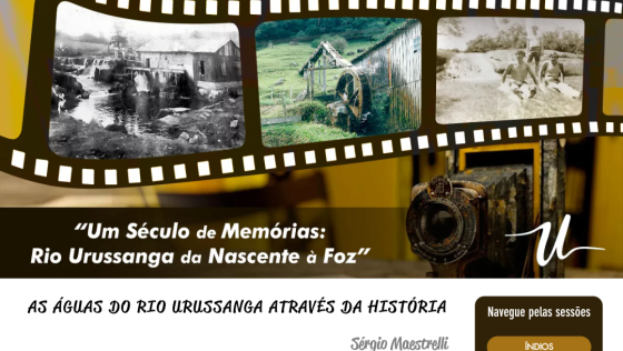 Exposição fotográfica virtual revela fases do Rio Urussanga