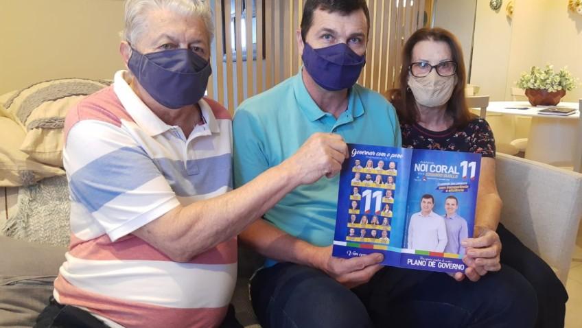 Noi e Eduardo lançam Plano de Governo para que Morro da Fumaça continue se desenvolvendo