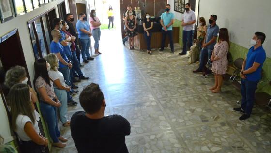 Oração, diálogo e muitos projetos no início do segundo mandato de Noi e Eduardo