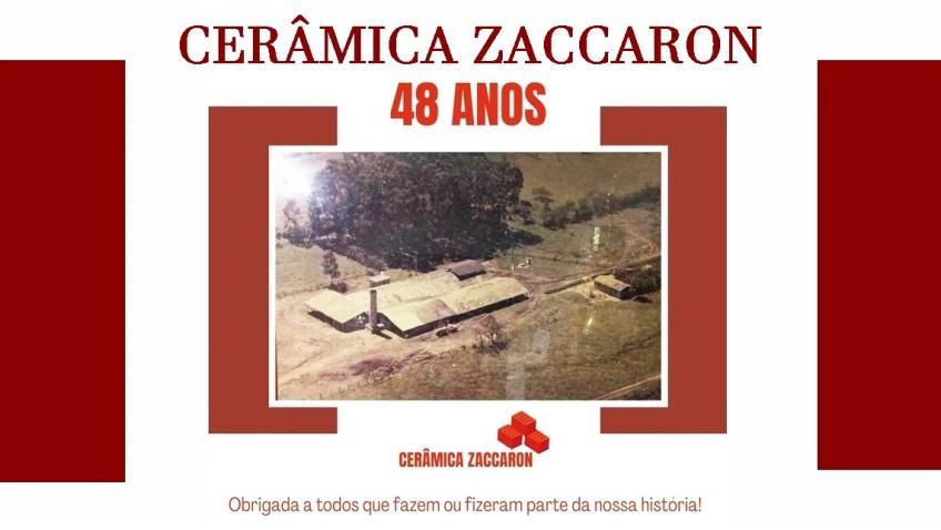 CERÂMICA ZACCARON, 48 ANOS TRABALHANDO PARA O DESENVOLVIMENTO DO SUL BRASILEIO