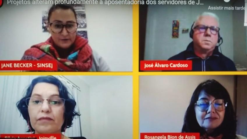 DESACATO – Projetos alteram profundamente a aposentadoria dos servidores de Joinville