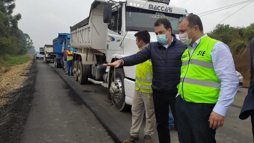 Forquilhinha recebe R$ 2,2 milhões em nova parcela para pavimentação da Jacob Westrup
